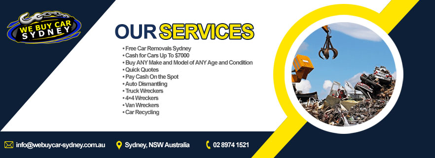 We Buy Car Sydney Services